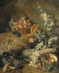 Still Life of Fruits and Vegetables (\