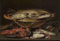 Stilleven met vis, Clara Peeters, 17de eeuw, Koninklijk Museum voor Schone Kunsten Antwerpen, 834.jpg