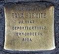 Stolperstein Badstr 61 (Gesbr) Tana Horwitz.jpg