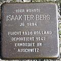 Stolperstein Delmenhorst - Isaak ter Berg (1894).JPG