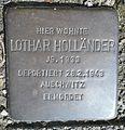 Stolperstein Hilchenbach Mühlenweg 25 Lothar Holländer.jpg