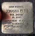 Stolperstein Konstanzer Str 62 (Wilmd) Johanna Eitig.jpg