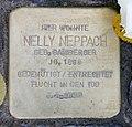 Stolperstein Nachodstr 22 (Wilmd) Nelly Neppach.jpg