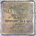 Stolperstein Pariser Str 24 (Wilmd) Paula Blumenthal.jpg