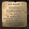 Stolperstein Toni-Lessler-Str 13 (Grune) Susanne Ellstaetter.jpg