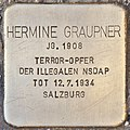 Stolperstein für Hermine Graupner (Salzburg).jpg