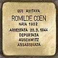 Stolperstein für Romilde Coen (Ancona).jpg