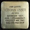 Stumbling block for Hermann Osser (Schaurtestrasse 1)