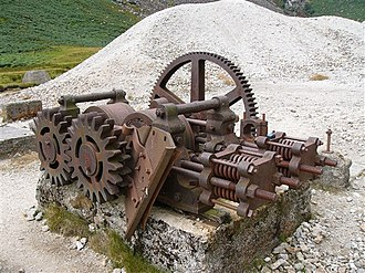 Glendalough - Ore Crusher, Miner's Village