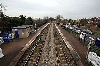 Stonehouse railway station - Image: Stonehouse railway station 1
