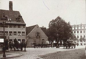 Store Strandstræde - Store Strandstræde in the 1900s3