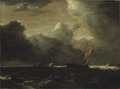 Storm Clouds over the Sea (Jacob Isaackszoon van Ruisdael) - Nationalmuseum - 21087.tif