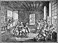 Story of Prague (1920), Defenestration of Prague in 1618.jpg