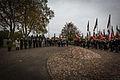 Strasbourg nécropole nationale de Cronenbourg cérémonie 1er novembre 2013 18.jpg
