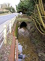 Stream and Culvert next to Hackney Road,Peasenhall - geograph.org.uk - 1740874.jpg