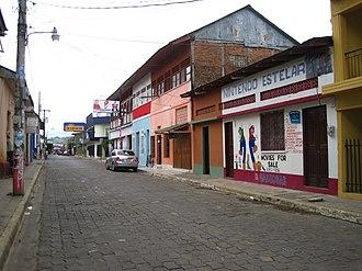 Rivas, Nicaragua - Street in Rivas, Nicaragua.