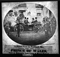 Street view in Portland, Me., October 20th, 1860, of the Prince of Wales, Duke of Newcastle, Lord Lyons & Mayor Howard by Burnham Bros Maine LC 3a05448u.jpg