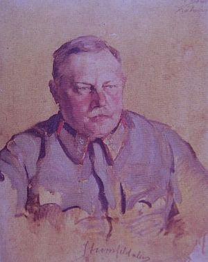 Aurél Stromfeld - Aurél Stromfeld in 1919