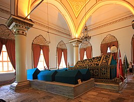 Sultan Orhan tomb Bursa Turkey 2013 5.jpg