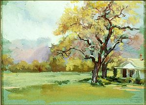 Ellen Day Hale - Summer Place, 1925, watercolor
