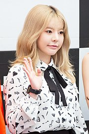 Sunny at Starfield Hanam G-SHOCK fan signing on April 16, 2017 (1).jpg