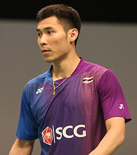 Suppanyu Avihingsanon Badminton player