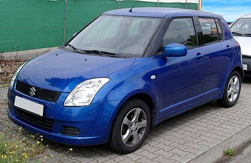 Suzuki Swift front 20080822