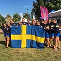 Sweden National Dragon Boat Team, Senior Women, European Champions 2016 500m.jpg