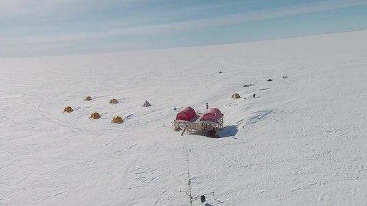 File:Swiss Camp (Greenland), aerial video.webm