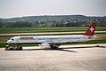 Swissair Airbus A321; HB-IOH@ZRH;11.04.1997 (4734132777).jpg
