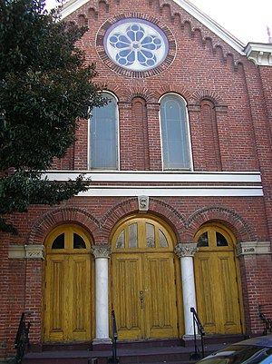 History of the Jews in Canada - Congregation Emmanu-El Synagogue (1863) in Victoria, British Columbia, the oldest Synagogue in Canada still in use, and the oldest on the West Coast of North America