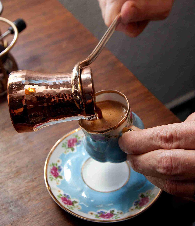 Türk Kahvesi - Bakir Cezve