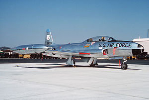 201st Airlift Squadron - The T-33A was flown until 1987.