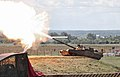 T-80U firing, Engineering Technologies 2012.jpg