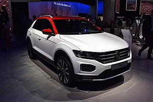 Volkswagen T-Roc - T-Roc at the 2017 International Motor Show Germany