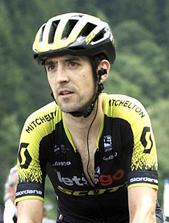 Mikel Nieve Spanish road bicycle racer