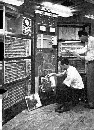 Transistor computer - TRADIC