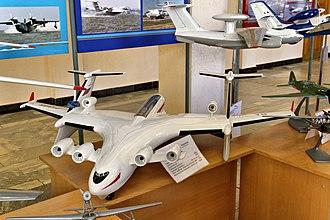 Beriev Be-2500 - Image: Taganrog Beriev Aircraft Company Beriev Be 2500 (model) IMG 2050 1725