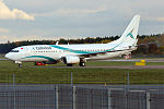 Tailwind Airlines, TC-TLH, Boeing 737-8K5 (22234492691).jpg
