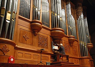 National Theater and Concert Hall, Taipei - The pipe organ in Taiwan's National Concert Hall was the largest in Asia when installed in 1987.