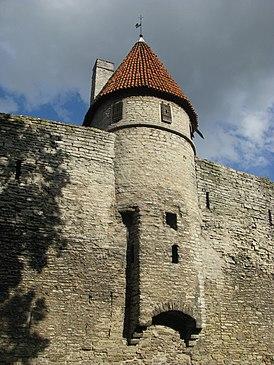 Tallinna Tallitorn, lähivaade, 8. august 2011.jpg