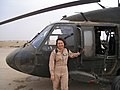 Tammy Duckworth stands by her UH-60 Blackhawk helicopter (001130-A-FI215-212).jpg