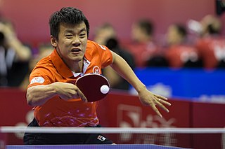Tang Peng table tennis player