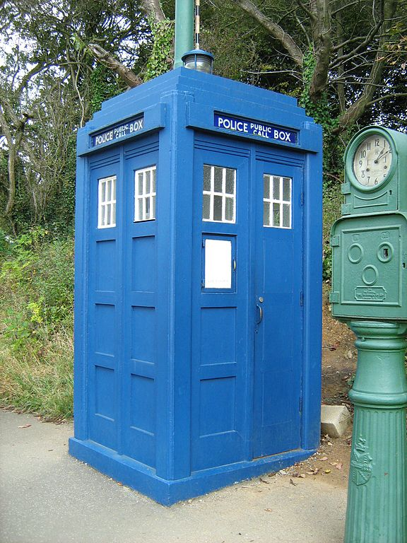 File Tardis Police Box Crich Tramway Village Jpg