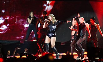 Taylor Swift's Reputation Stadium Tour - Swift performing at Sports Authority Field at Mile High in Denver, Colorado, being the first woman to headline a concert at the stadium.