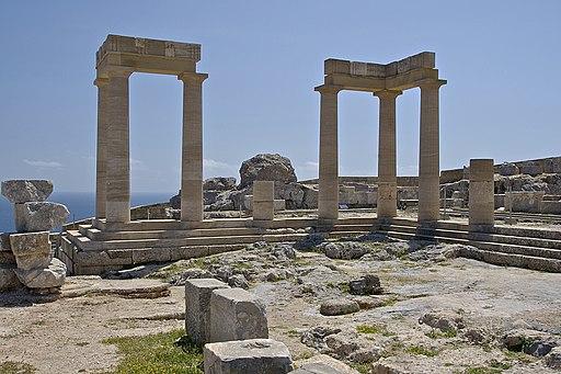Temple Athena Lindos Rhodes