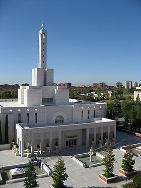 Image illustrative de l'article Temple mormon de Madrid