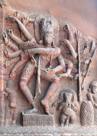 Natya Shastra - The Natyashastra influenced other arts in ancient and medieval India. The dancing Shiva sculpture in Badami cave temples (6th–7th century CE), for example, illustrates its dance movements and Lalatatilakam pose.
