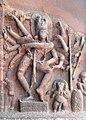 Temple troglodytique dédié à Shiva (Badami, Inde) (14146091479).jpg