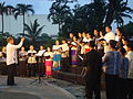 Terence Guillermo, Choirmaster and Conductor at Paco Park.JPG